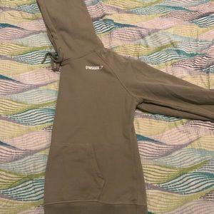 Gymshark green hoodie